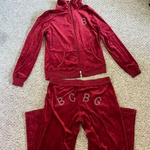 COPY - BCBG velvet suit